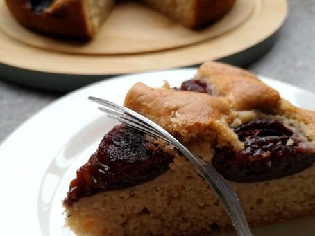 Spiced Plum Cake                           (Gluten-Free & Dairy-Free Recipe)
