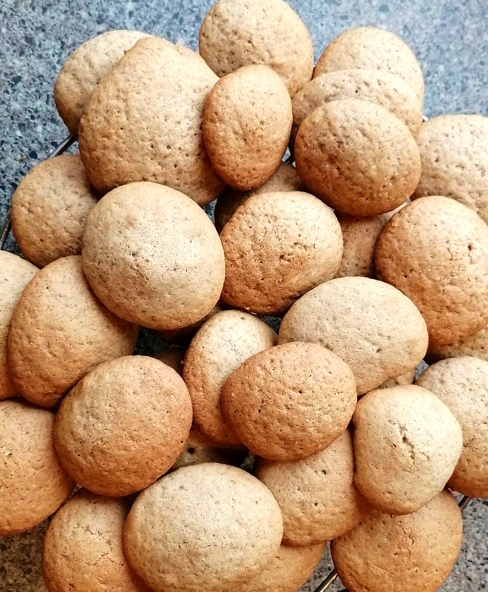 Orange and Cinnamon Cookies gluten and dairy-free