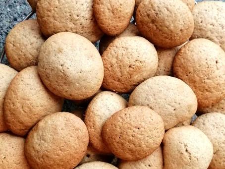 Orange and Cinnamon Cookies       (Gluten-Free & Dairy-Free Recipe)