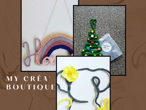 My Créa' Boutique                        (Handmade Wool Creations)
