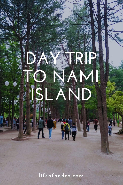 day trip to Nami Island