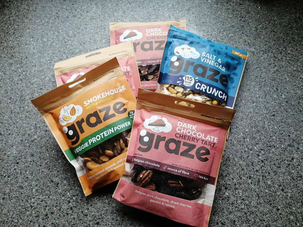 graze sharing bags