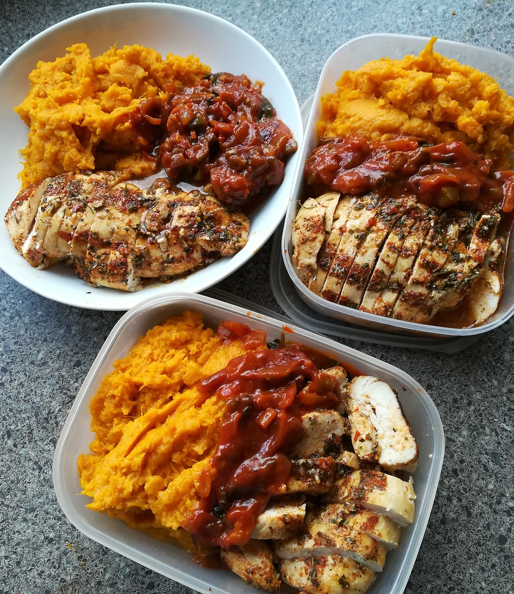 less stress with meal-prepping