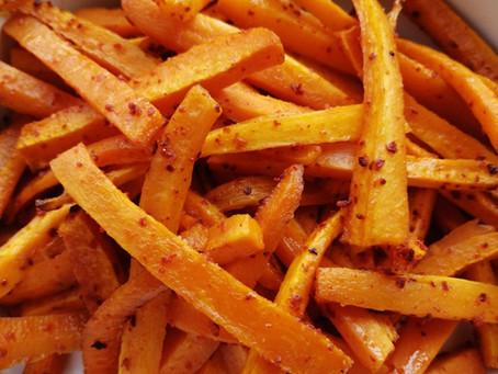 Gochugaru Roasted Carrots