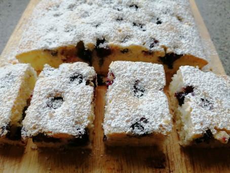 Blueberry Cake                                (Gluten & Dairy Free Recipe)