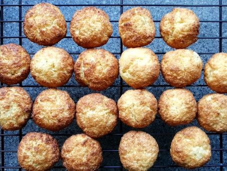 Coconut Cookies with Peach & Pineapple  (Gluten-Free and Dairy-Free Recipe)