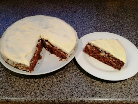Probably The Best Carrot Cake I've Ever Made! (Gluten and Dairy-Free Recipe)