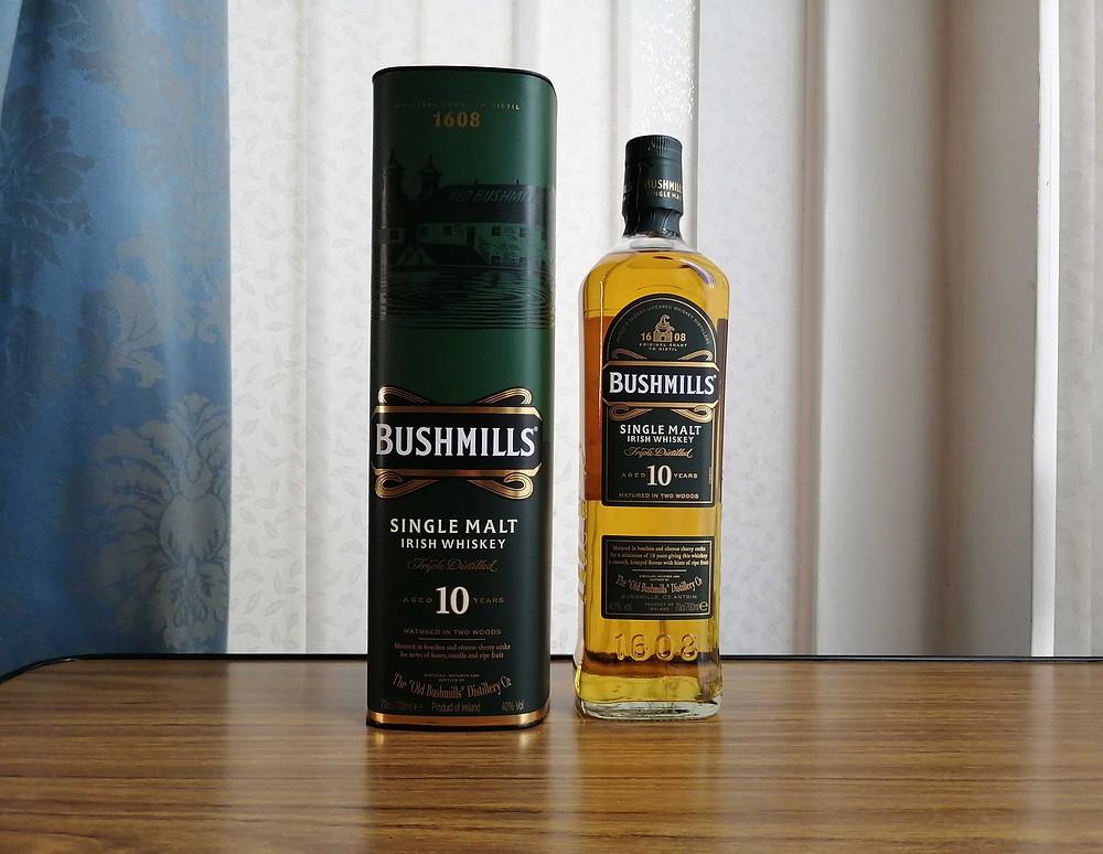 bushmills 10 single malt whiskey