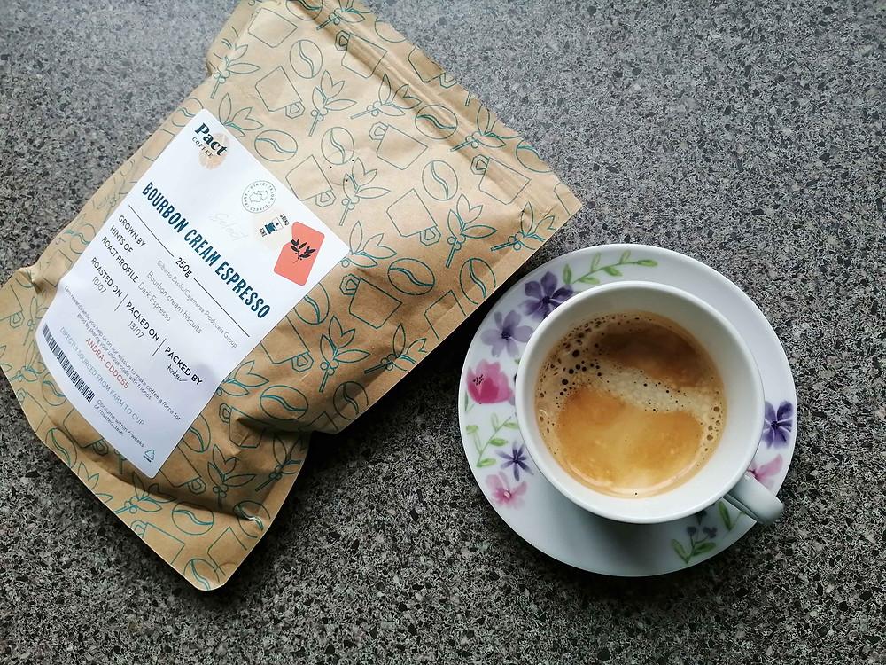 Pact Coffee Bourbon Cream Espresso
