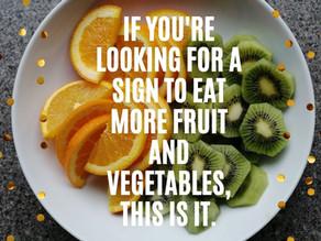 Eat well, sleep well and you will feel well