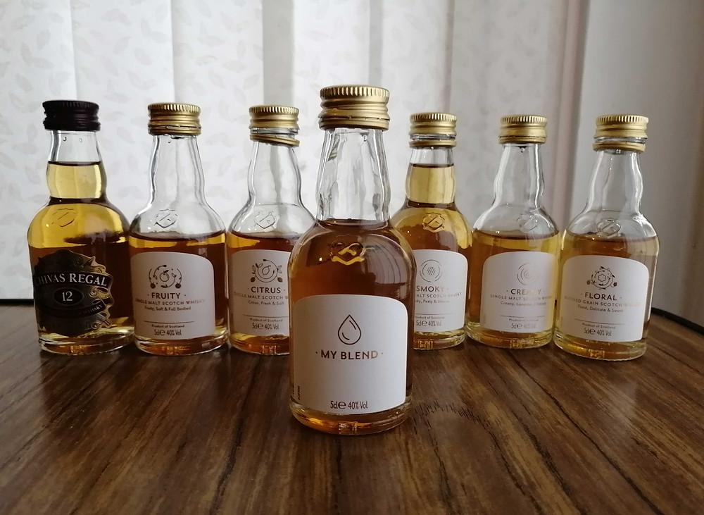 Chivas Regal Whisky Blending Kit my blend