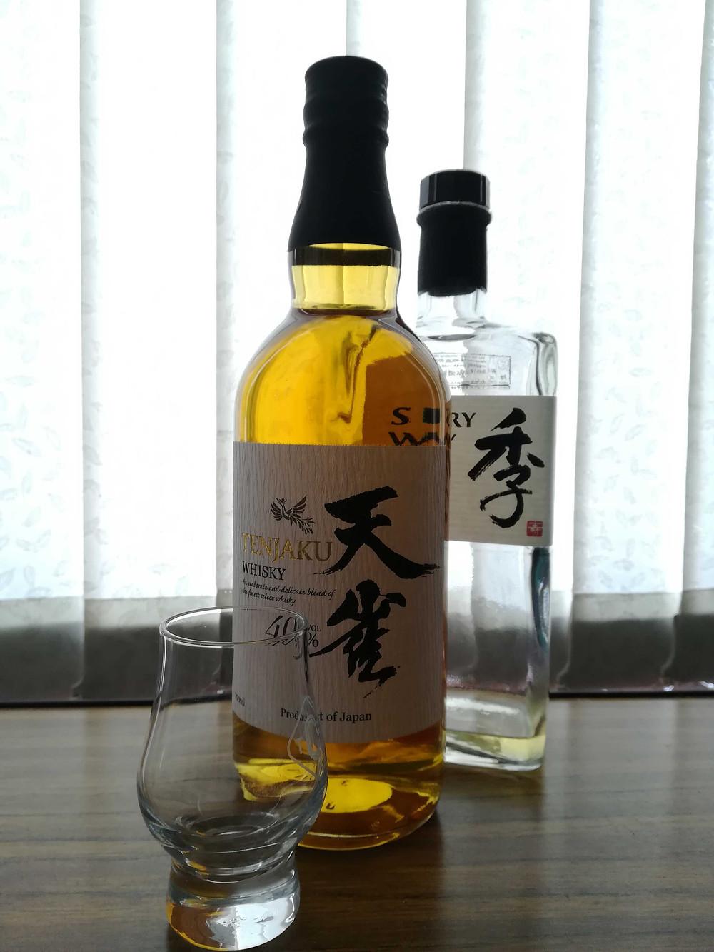 Tenjaku and Toki Whiskey Japanese