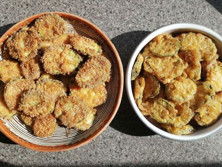 Fried Courgette/Zucchini Recipe                (Gluten-Free)