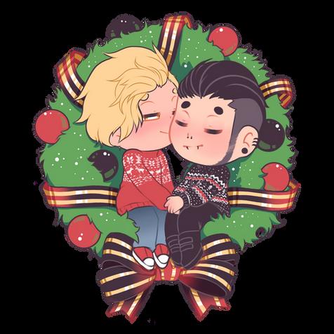 Noah and Beau Christmas