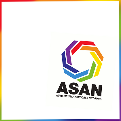 Autistic Self Advocacy Network Sticker