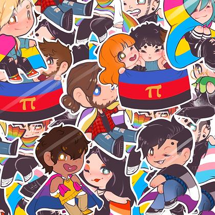"""Pride! 3"""" Sticker"""