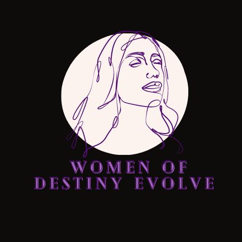 Feminine Trendy Logo Template With Woman