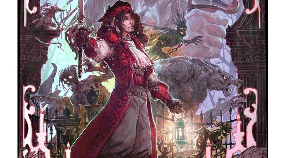 (Pre Order) D&D 5th: Van Richten's Guide to Ravenloft Hobby Exclusive Cover