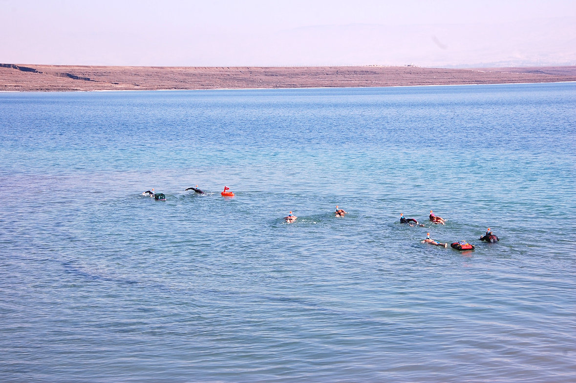 Swimming In the Dead Sea