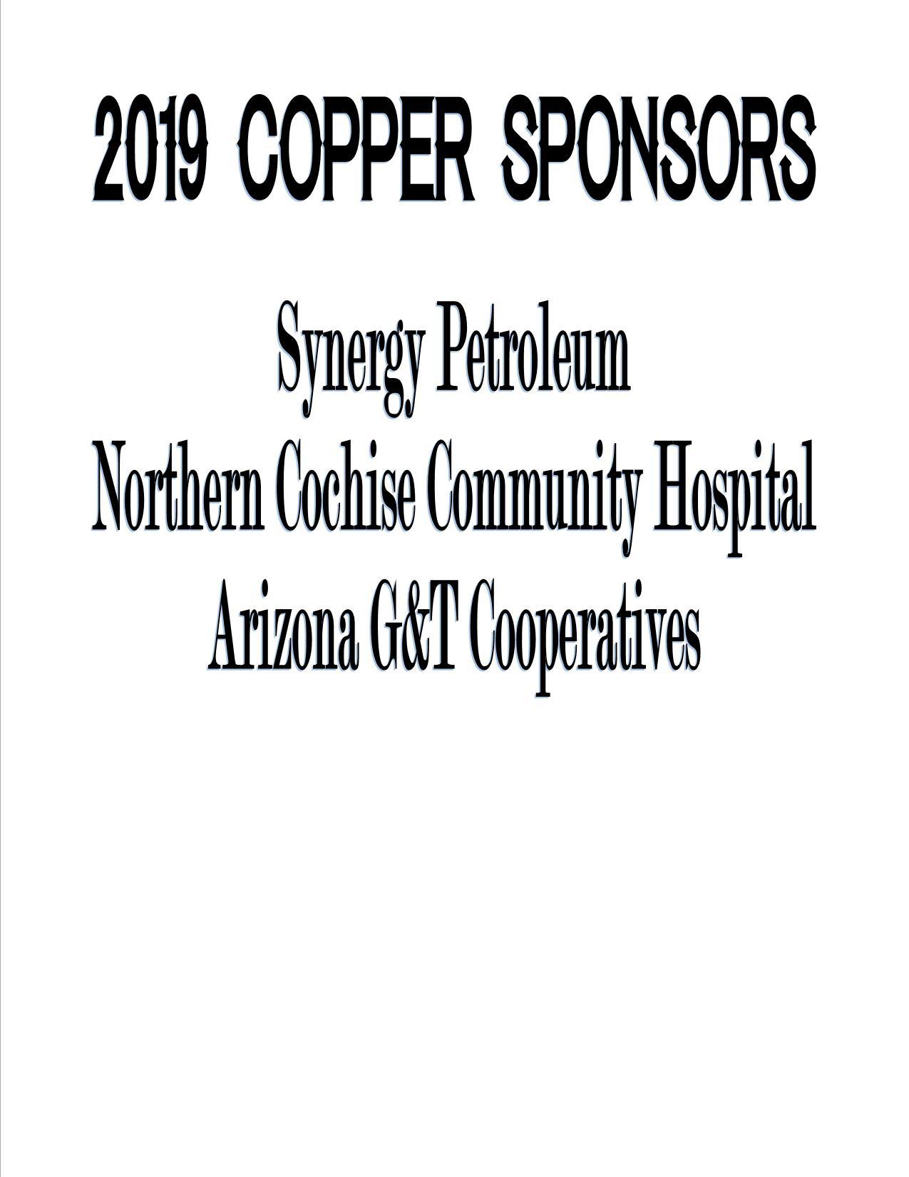 2019 Copper