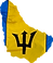 Barbados Island Shape with Flag.png