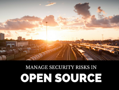 How do you Manage Security Risks in Open Source?