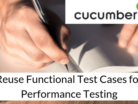 Cucumber-based performance testing