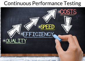 The road to Continuous Performance Testing