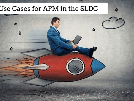Use cases for APM in the SDLC