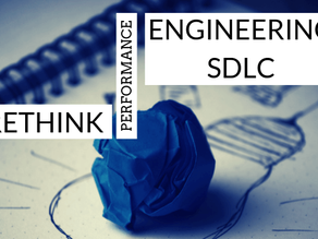 Rethink performance engineering in the SDLC