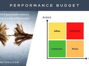 Performance Engineering Budget