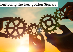 Monitoring the four golden signals