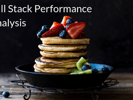 Full-stack performance analysis