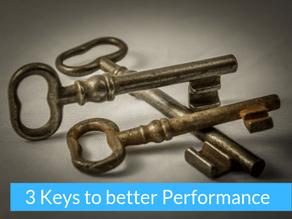 Better performance in 3 steps