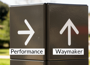Why every company needs a performance waymaker