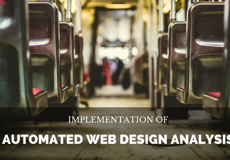 Implement your Automated Web Page Design Analysis