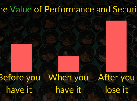 The Value of Performance and Security