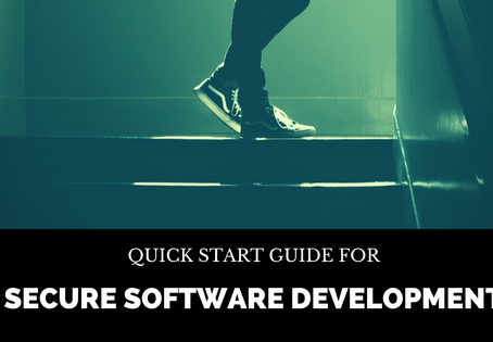 Quick Start Guide for Secure Software Development