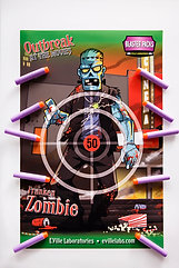 BLASTER PACK POSTER ZOMBIE