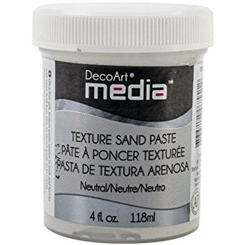 DecoArt Media Sand paste