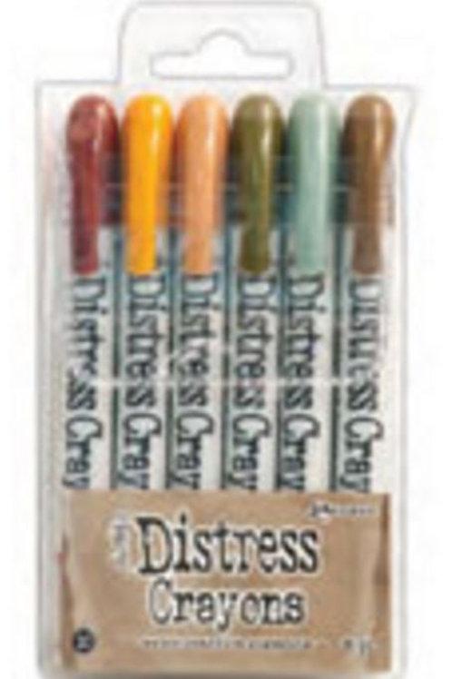 Distress Crayons set #10 PRE-ORDER