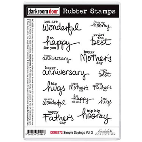 Simple Sayings Vol 2 stamp - Darkroom Door