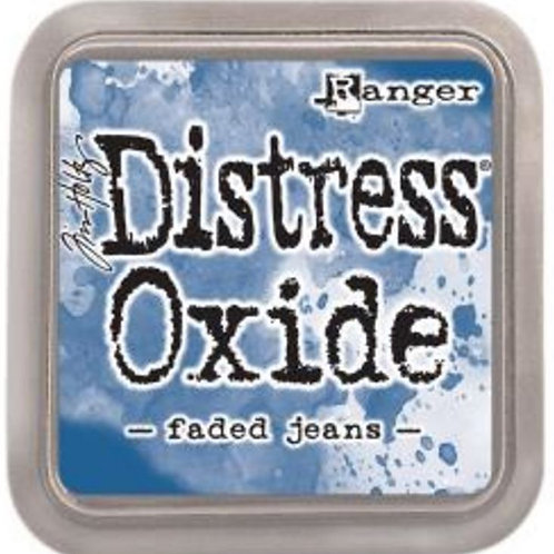 Tim Holtz Distress Oxides Ink pad Faded Jeans