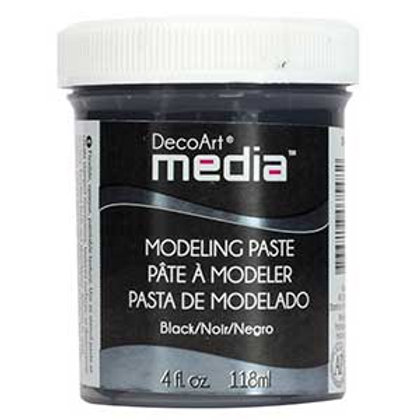 DecoArt Media Black Modelling paste