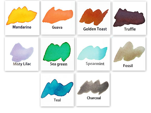 NEW release Color Crush Watercolour Powders Set