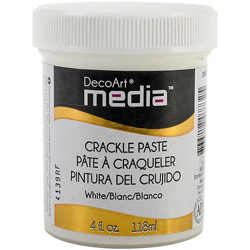 DecoArt Media Crackle Paste