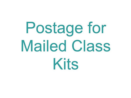 Apply postage to mail class kit