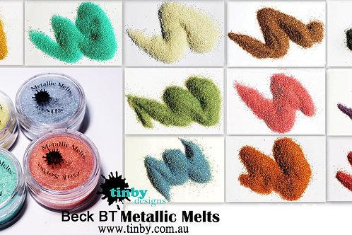 Beck BT's Tinby Designs Metallic Melts full set 12 colours