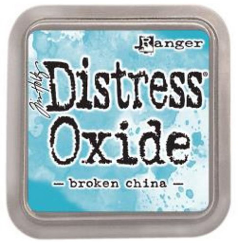 Tim Holtz Distress Oxides Ink pad Broken China