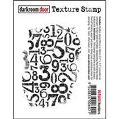 Numbers Texture stamp - Darkroom Door